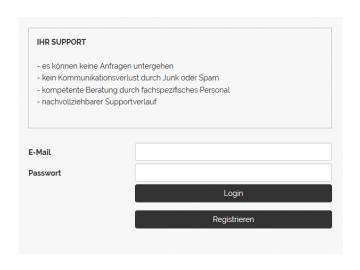 Supportticket Modul